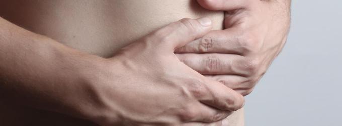 dolor en el abdomen inferior izquierdo y