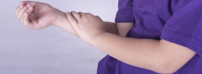 dolor muscular nino